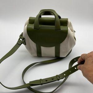 Kate spade Saturday canvas and leather mini bag